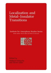 Localization and Metal-Insulator Transitions
