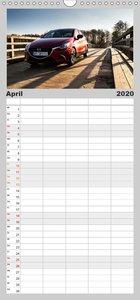 Mein Mazda - Familienplaner hoch (Wandkalender 2020 , 21 cm x 45