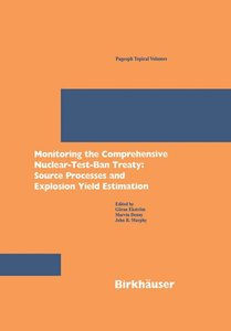Monitoring the Comprehensive Nuclear-Test-Ban Treaty: Source Pro