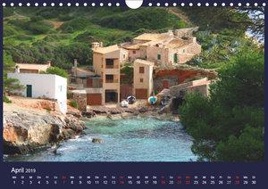 Landschaften Mallorcas (Wandkalender 2019 DIN A4 quer)