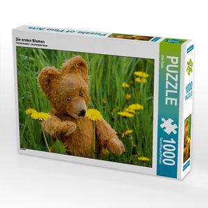 Die ersten Blumen 1000 Teile Puzzle quer