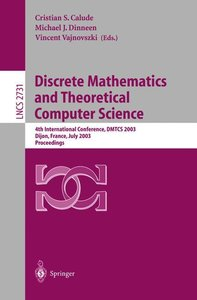 Discrete Mathematics and Theoretical Computer Science