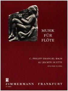 10 leichte Duette. Musik für Flöte