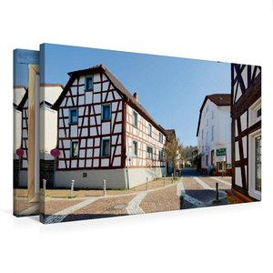 Premium Textil-Leinwand 75 cm x 50 cm quer Mühlstraße