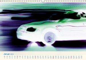 HYPERSPEED - Reisen im Hyperraum (Wandkalender 2019 DIN A3 quer)