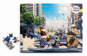 Shaun das Schaf Puzzle Abbey Road (Kinderpuzzle)