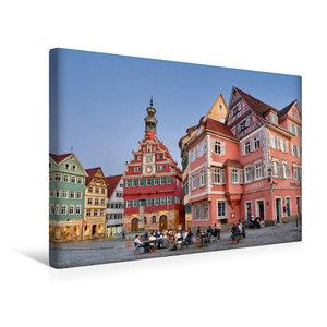 Premium Textil-Leinwand 45 cm x 30 cm quer Das Alte Rathaus von