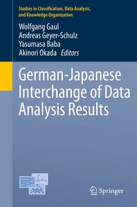 German-Japanese Interchange of Data Analysis Results
