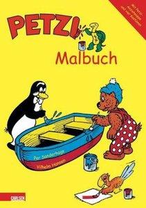 Petzi Malbuch