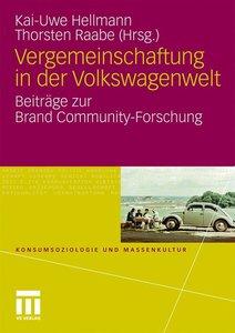 Vergemeinschaftung in der Volkswagenwelt
