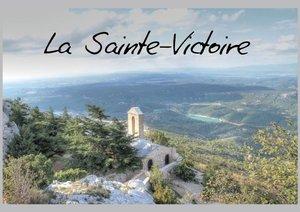 La Sainte-Victoire (Livre poster DIN A4 horizontal)