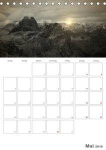 Drei Zinnen - Das Wahrzeichen Südtirols (Tischkalender 2019 DIN