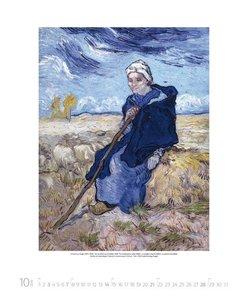 Vincent van Gogh 2018. Kunst Art Kalender