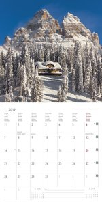 Alpen 2019 - Broschürenkalender