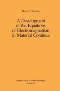 A Development of the Equations of Electromagnetism in Material C