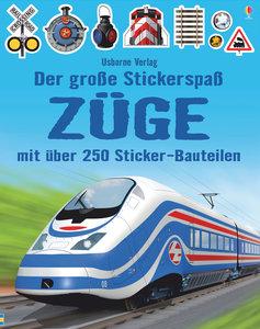 Der große Stickerspaß: Züge