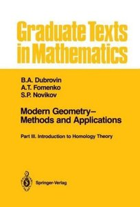 Modern Geometry-Methods and Applications