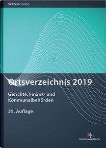 Ortsverzeichnis 2019