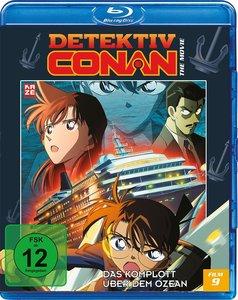 Detektiv Conan - 9. Film: Das Komplott über dem Ozean - Blu-ray
