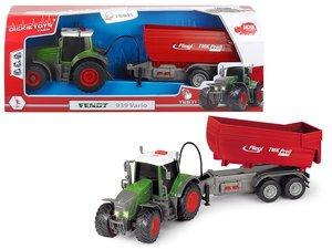 Dickie 203737000 - Fendt 939 Vario, Traktor mit Anhänger