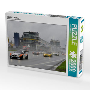 ADAC GT Masters 2000 Teile Puzzle quer