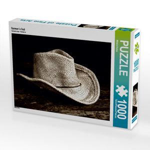 farmer´s hat 1000 Teile Puzzle quer