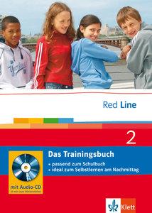 Red Line 2 - Das Trainingsbuch. 6. Schuljahr