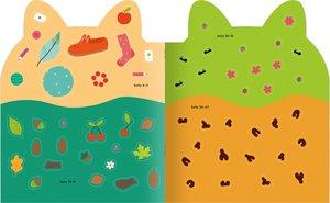 Kreativ Kids - Sticker-Malbuch Tiere