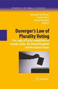 Duverger's Law of Plurality Voting