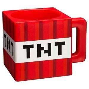 Minecraft Tasse TNT im Block Design, 290ml, rot