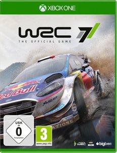 WRC 7, 1 XBox One-Blu-ray Disc