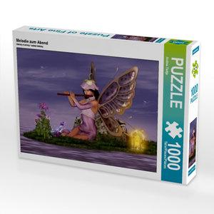 Melodie zum Abend 1000 Teile Puzzle quer