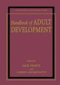 Handbook of Adult Development