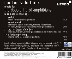 Music For The Double Life Of Amphibians.Landmark