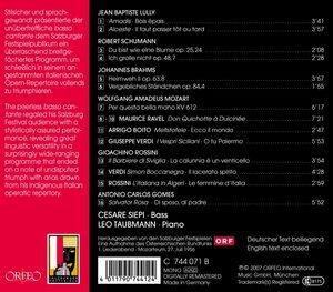 Lieder:Amadis/Heimweh/Don Quichotte a Dulcinee/+
