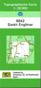 TK25 6942 Sankt Englmar