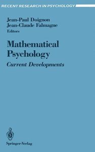 Mathematical Psychology