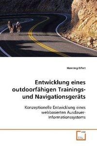 Entwicklung eines outdoorfähigen Trainings-und Navigationsgeräts