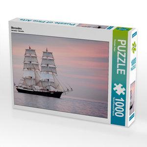Mercedes 1000 Teile Puzzle quer