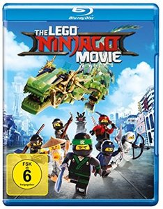 The Lego Ninjago Movie, 1 Blu-ray
