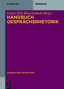 Handbuch Gesprächsrhetorik
