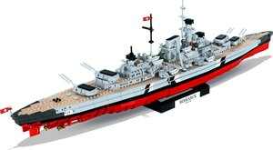 Cobi World War II 4810 - Battleship Bismarck - Historical Collec