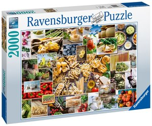AT: Food Collage Puzzle 2000 Teile