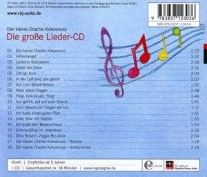 Der kleine Drache Kokosnuss - Die große Lieder-CD