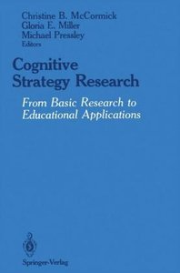 Cognitive Strategy Research