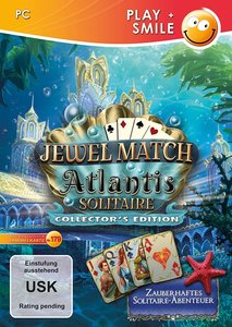 Jewel Match Atlantis Solitaire, 1 CD-ROM (Collector\'s Edition)