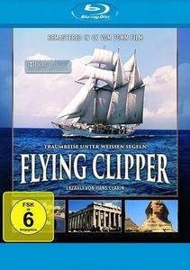 Flying Clipper-Traumreise unter weißen Segeln