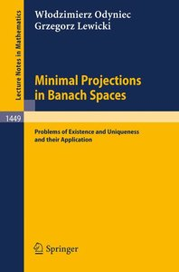 Minimal Projections in Banach Spaces