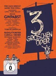 Die 3-Groschen-Oper - Mediabook, restaurierte Fassung (DVD + Blu