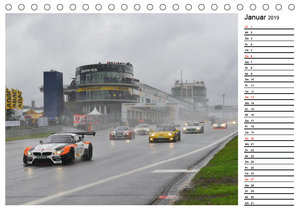Motorsport am Nürburgring (Tischkalender 2019 DIN A5 quer)